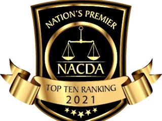 2021 Criminal Defense Attorney Award